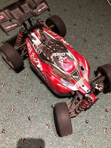 Arrma typhon upgraded with 3s lipo battery and tires in rims