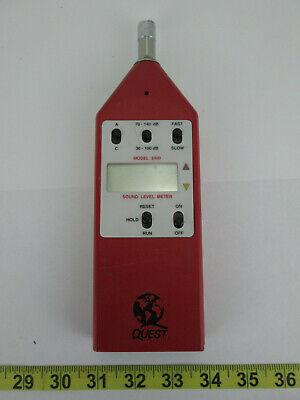 Quest Technologies Sound Level Meter Model 2400 Handheld Test Device