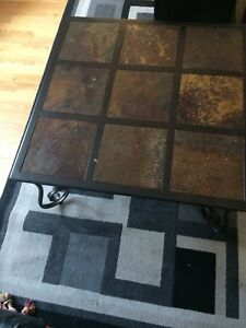 Coffe table and matching end table set