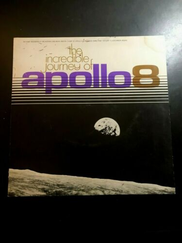 The Incredible Journey of Apollo 8 Flight Recording 33 1/3 LP NASA DuPont RARE