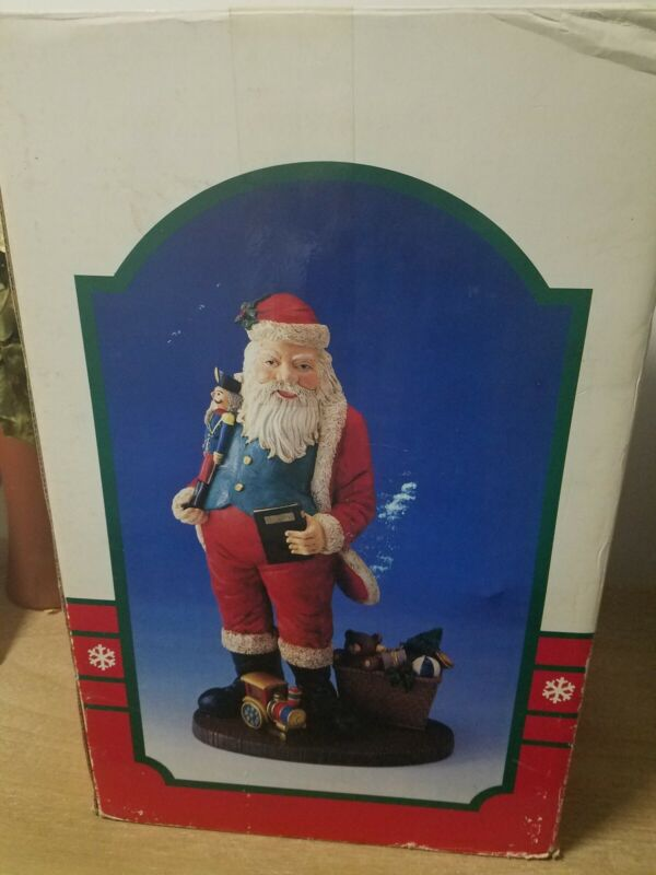 1992 Jolly St. Nick Collection Santa Clause Figurine Vintage