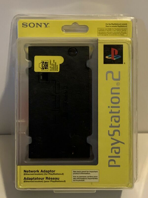 Unopened Official OEM Sony PlayStation 2 PS2 Network Adapter SCPH-10281
