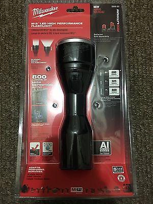 Milwaukee M12 12V Li-Ion LED Metal Flashlight (Bare) 2355-20 new Light