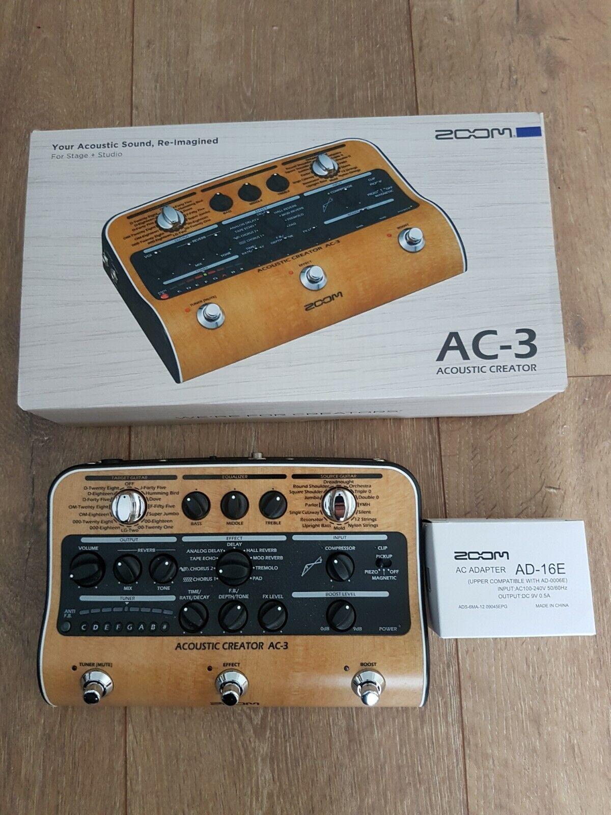 Zoom AC-3 Acoustic Creator, neuwertig in Originalverpackung