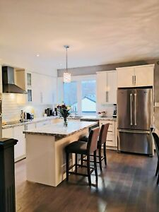Detached Leslieville 3 bed 2.5 bath house for rent