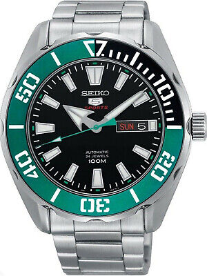 Seiko 5 Sports SRPC53 Automatic 24 Jewels Stainless Steel Men's Watch SRPC53K1