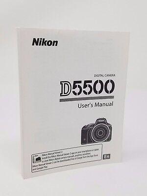 Инструкции и руководства Nikon D5500 5500