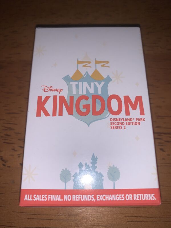 Disneyland Tiny Kingdom edition 2 Series 2 Mystery Pins 3 Random Pins UNOPENED