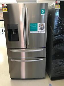 Hisense 701l frost free fridge with ice maker warranty at q930646 Craigieburn Hume Area Preview