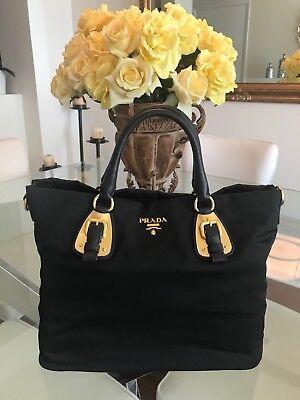 Prada BN1902 Nero Tessuto Black Nylon Bag - NEW [bonus: custom bag organizer]