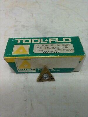 Tool-flo Carbide Threading Inserts Tnmc 43 Ngc W.188