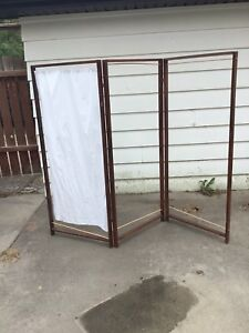 Homemade room divider