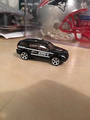 Matchbox Black NYPD Sport Suv 1/64 Loose 2016 Police Rescue