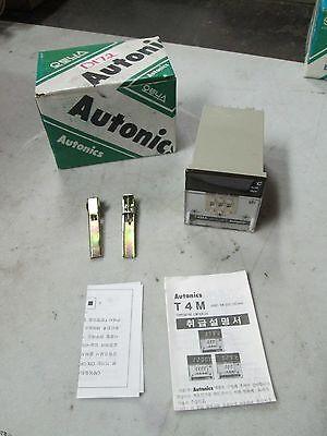 Autonics Temperature Controller Mod T4ma-b3rj4c Sensor Jic Out Relay Nib
