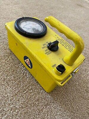 Civil Defense Ocd Victoreen Geiger Meter Radiation Detector Model Cdv-715