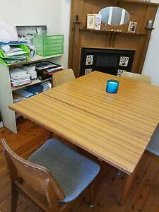 Vintage Retro Dining Table and Chairs by C.R.O Abbotsford Canada Bay Area Preview