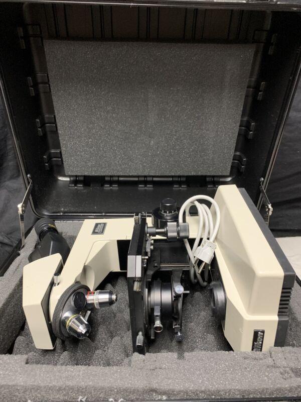 Nikon Labophot Microscope With Platt Case G220