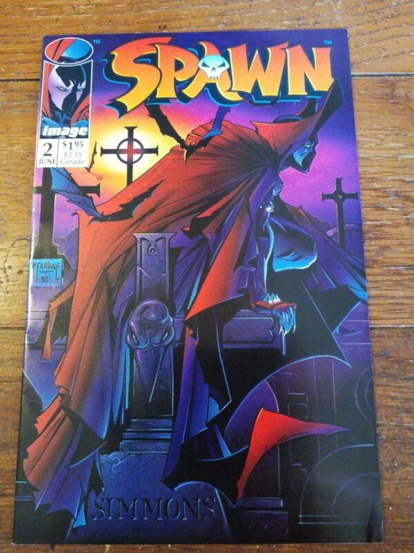 Spawn 2 Image Comics 1992