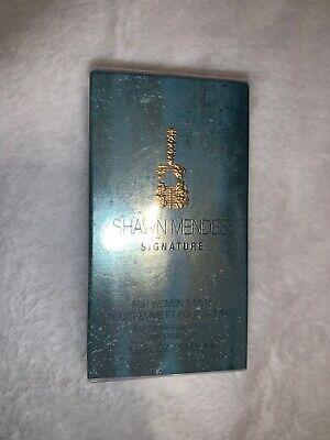 SHAWN MENDES SIGNATURE Eau De Parfum 1.0 OZ 30 ML New in Box For Women & Men.