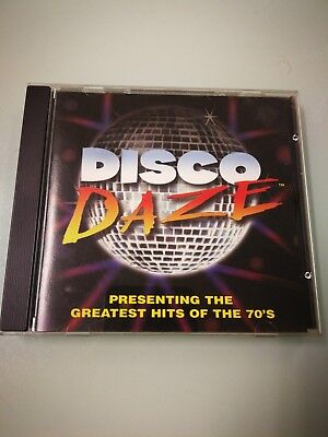 Disco Daze: presenting the greatest hits of the 70's CD By Spencer *Very good - Disco Of The 70s