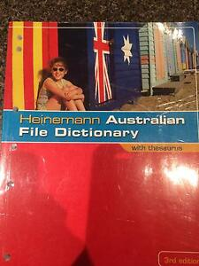 Heinemann Australian File Dictionary Stirling Stirling Area Preview