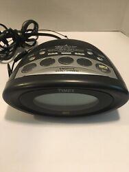 Timex MP3 Line-In T1233BA Tuning Alarm Clock Radio