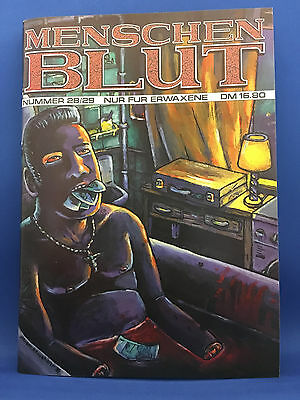 Menschenblut #28/29 (D) Eisenfresser Comics für Erwachsene Adult Erotik