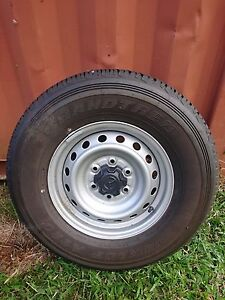 Mazda BT50 wheels and tyres x 5 Edmonton Cairns City Preview