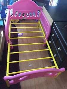 Toddler  girl's bed with mattress for sale