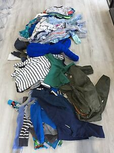 Bulk lot boys winter clothes size 1 Mawson Lakes Salisbury Area Preview
