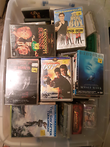 Huge Box of DVDs starting at $1 each. Shailer Park Logan Area Preview