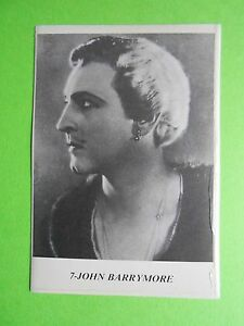 figurines-actors-stickers-akteurs-figurine-i-miti-di-hollywood-7-john-barrymore