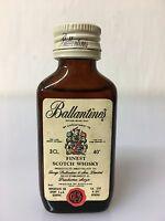 Mignon Miniature Ballantine's Finest Scotch Whisky 3cl 40% Vol - scotch - ebay.it