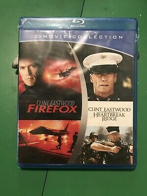 Firefox & Heartbreak Ridge Blu Ray Set - Brand New - Sealed!