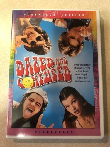 Dazed And Confused DVD, 2004, Flashback Edition Widescreen Excellent Near Mint - $7.99