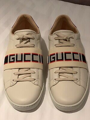 Gucci Ace Stripe Trainers Womens Unisex Eu 38 UK 5