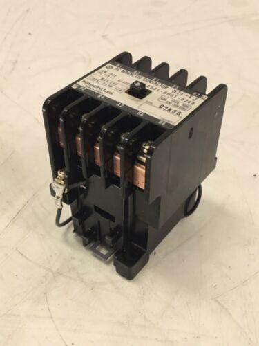 Hitachi AC Magnetic Contactor, H11-F3, 100-110 V Coil, A58L-0001-0248, Warranty