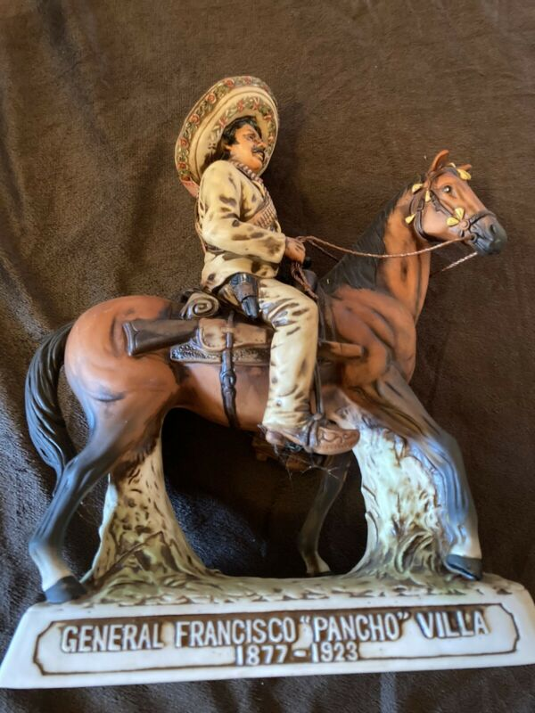 Collectible Pancho Villa Decanter First Edition 1975, Original, Empty