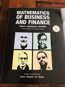 Accounting text books- Niagara College