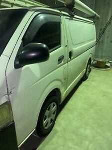 2005 Toyota Hiace Lwb 5 Sp Manual 4d Van