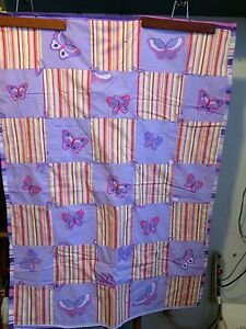 Handmade crib size quilts