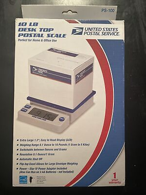 Official Usps Logo Postal Service Digital Shipping Scale New Works