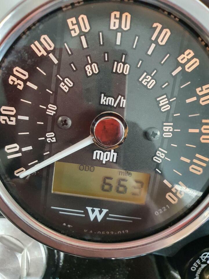 Kawasaki W800 STREET ONLY 663 Miles