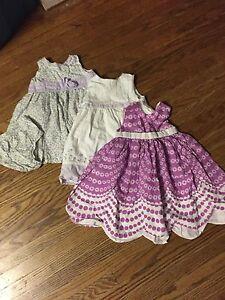 Girl summer dresses 18 - 24months