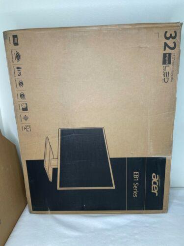 """Acer EB1 31.5"""" WQHD 2560x1440 IPS 60Hz 16:9 4ms 300Nit HDMI EB321HQU"""