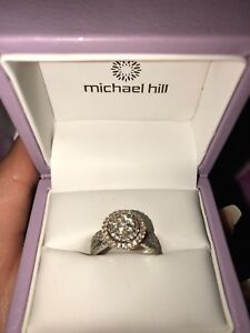 Michael hill engagement ring