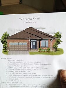 Newly build 3 bed room bungalow with double garage