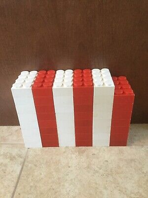 Vintage Lego Giant Blocks Red White 1960's