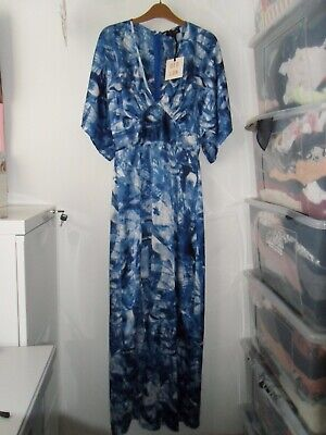 BNWT QED London Floral Maxi Dress Size 10