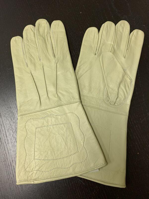 NEW BUFF Leather Gauntlet Gloves - Size XL - Excellent, Civil War, Steampunk
